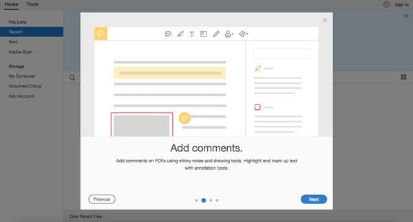 Adobe Reader Screenshot 2