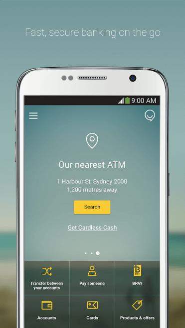 CommBank Screenshot 1