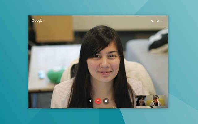 Google Hangouts Screenshot 3