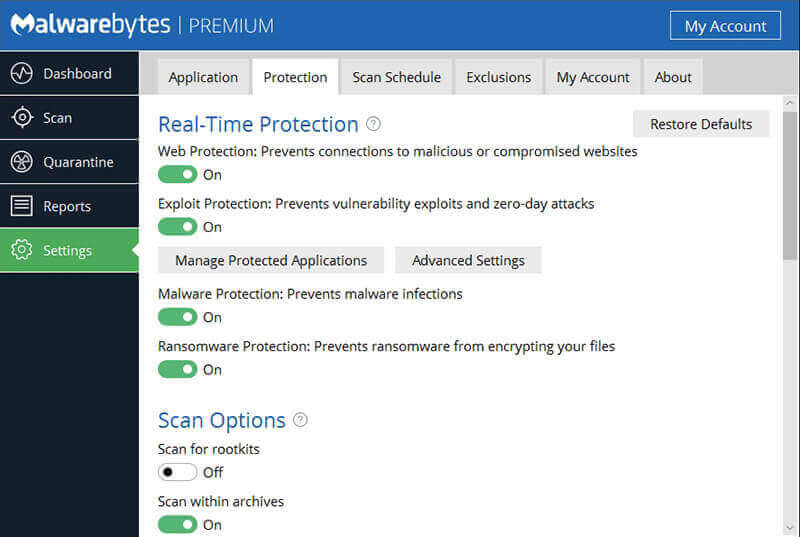 Malwarebytes Screenshot 4