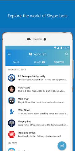 Skype screenshot 7