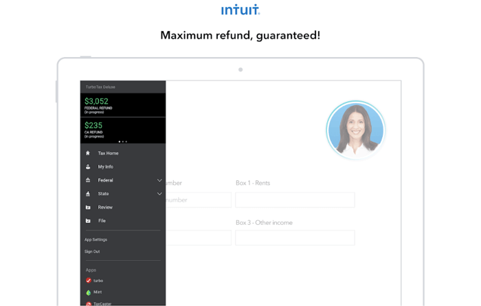 TurboTax Screenshot 1