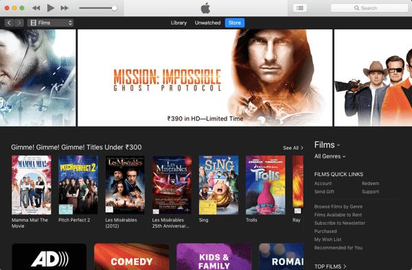 iTunes Screenshot 4
