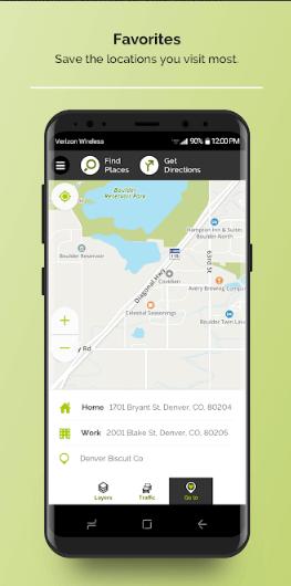 screenshot mapquest 1