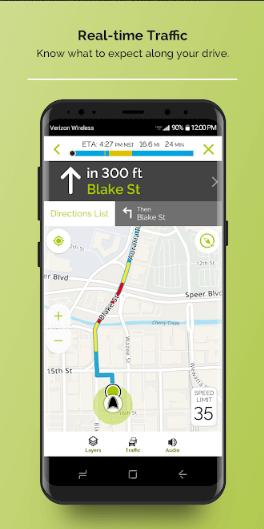 screenshot mapquest 2