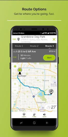 screenshot mapquest 3