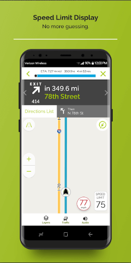 screenshot mapquest 4