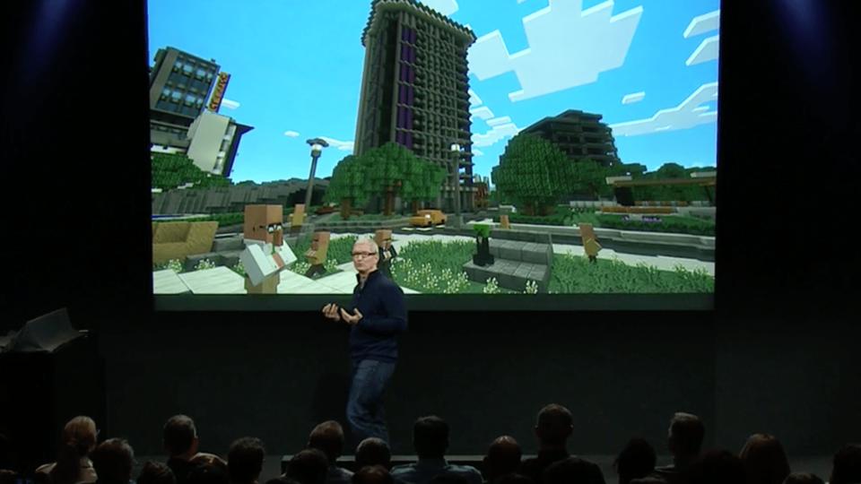 Apple TV-Minecraft
