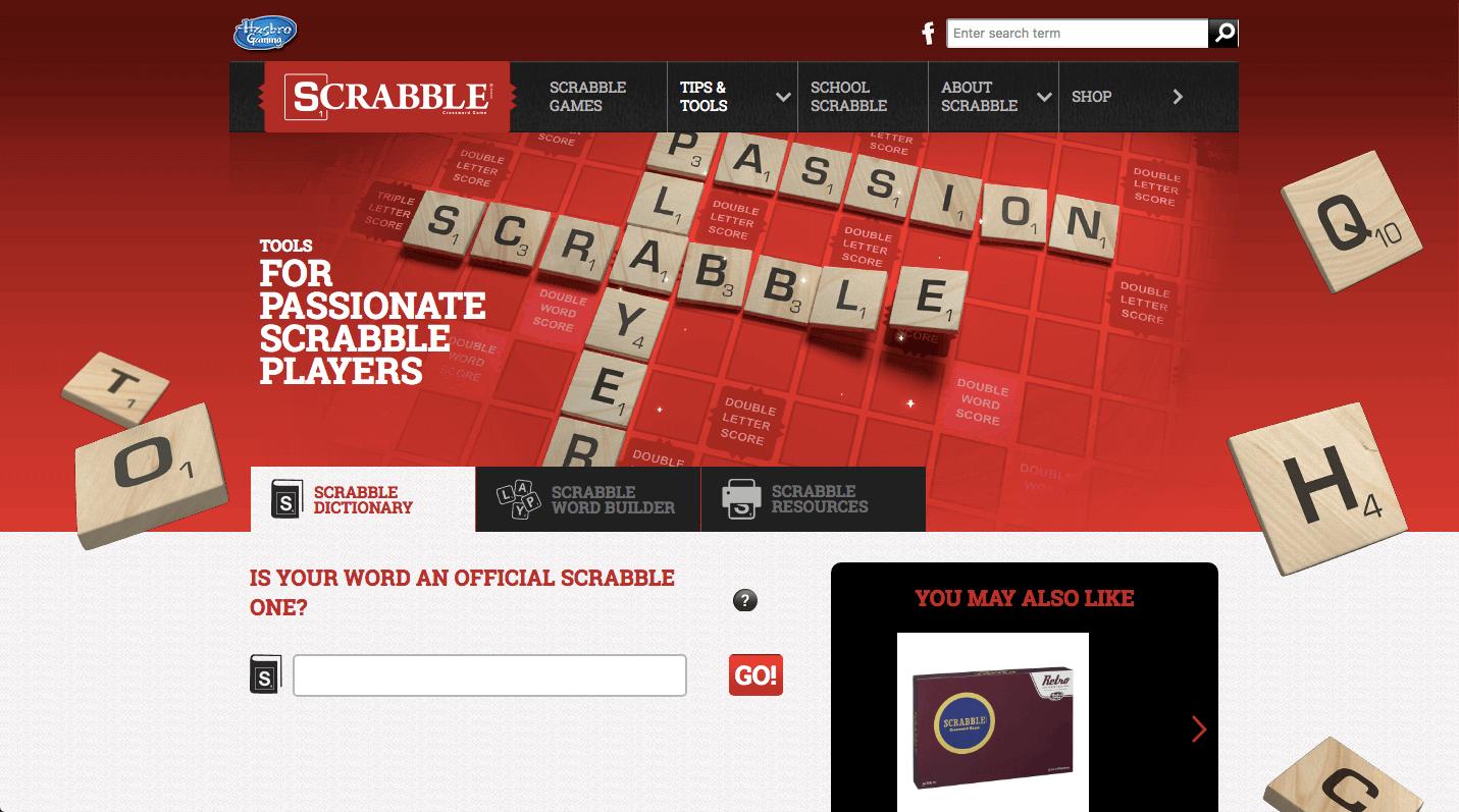 Scrabble Word Finder Screenshot 1
